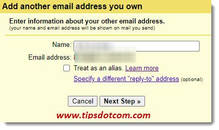 Add another email account to Gmail