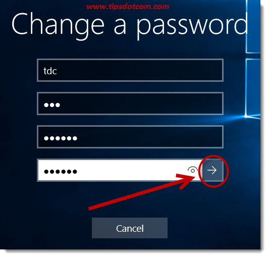 Change Your Password In Windows 10 03