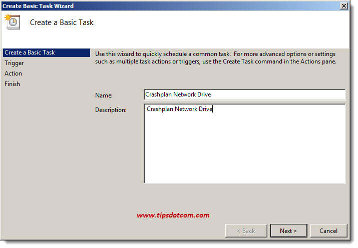 Crashplan Network Drive 08