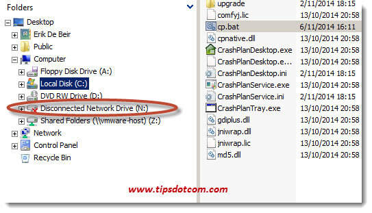 Crashplan Network Drive 16