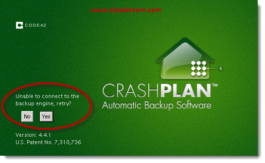 Crashplan Unable To Connect To The Backup Engine 01