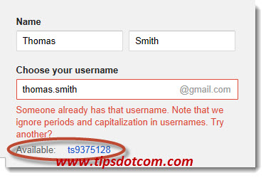Create a Gmail Account - Step 04