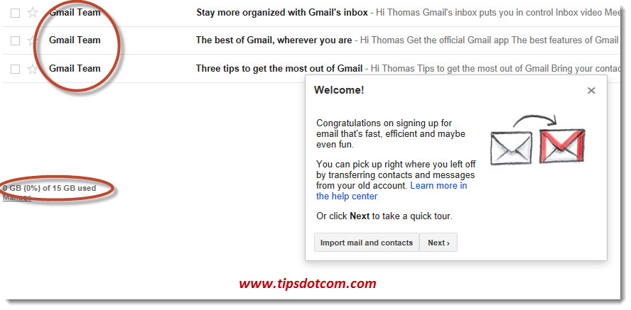 Create a Gmail Account - Step 09