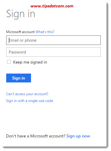 Create A Microsoft Account 06