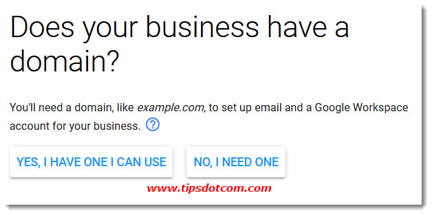 Create a new Gmail account for my business