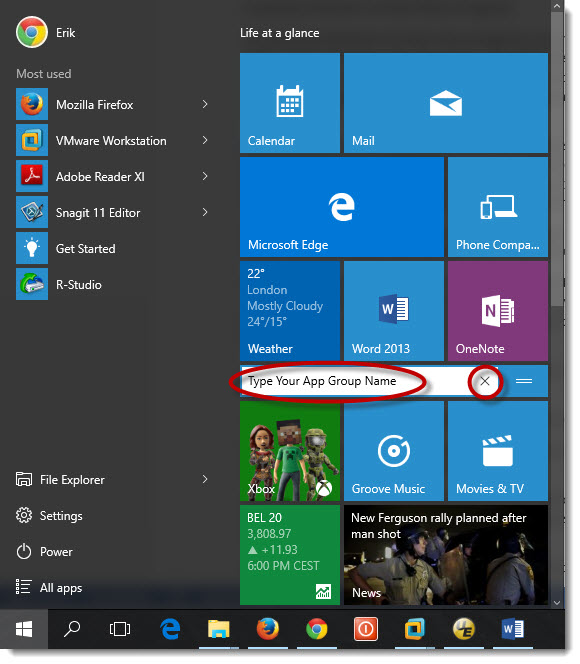 Customize Windows 10 Start Menu 13
