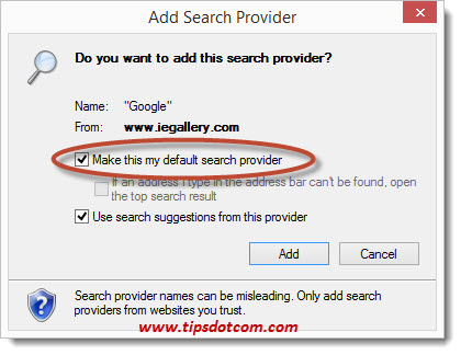 Default Search Provider 06