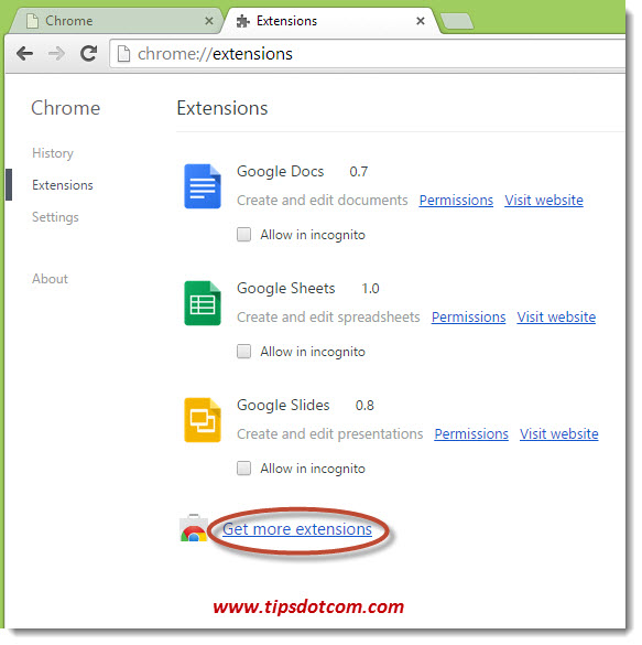 Delete Chrome History on Exit - Step 03