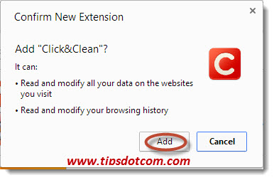 Delete Chrome History on Exit - Step 07