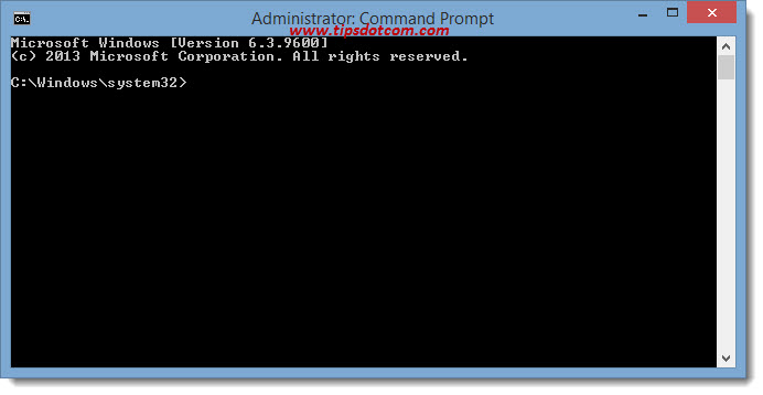 Elevated Command Prompt 10