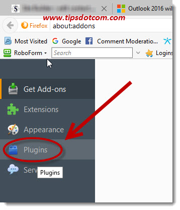 Firefox Has Prevented The Outdated Plugin Adobe Flash 04