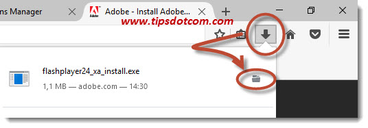 Firefox Has Prevented The Outdated Plugin Adobe Flash 10