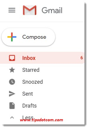 Labels rather than Gmail folders
