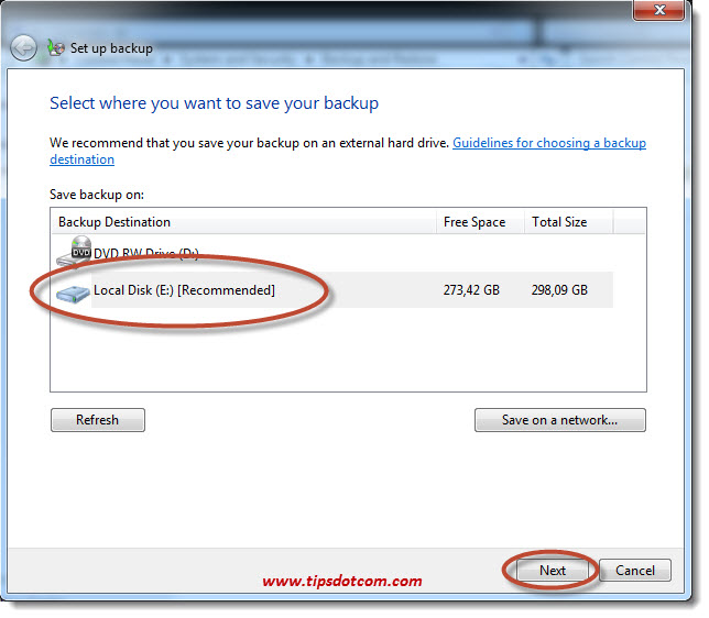 How To Backup Windows 7 - 08
