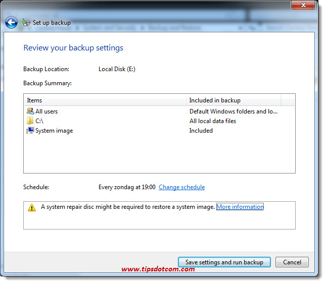 How To Backup Windows 7 - 11