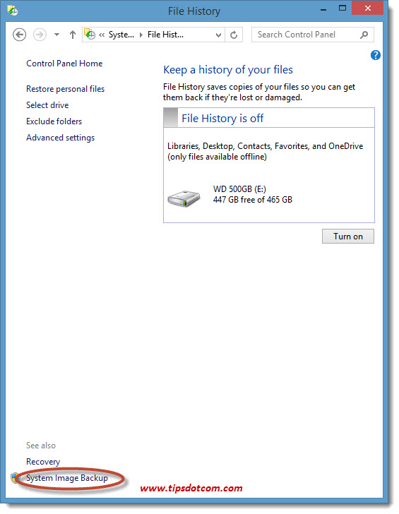 How To Backup Windows 8 - 04