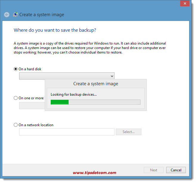 How To Backup Windows 8 - 05