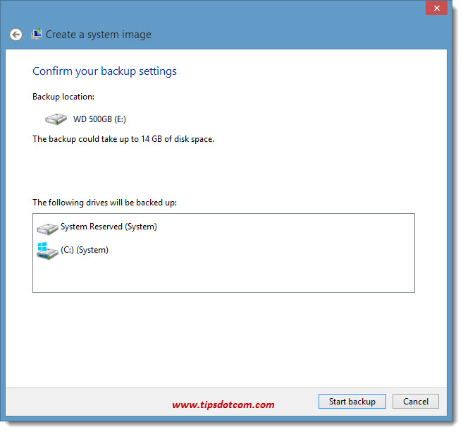 How To Backup Windows 8 - 07