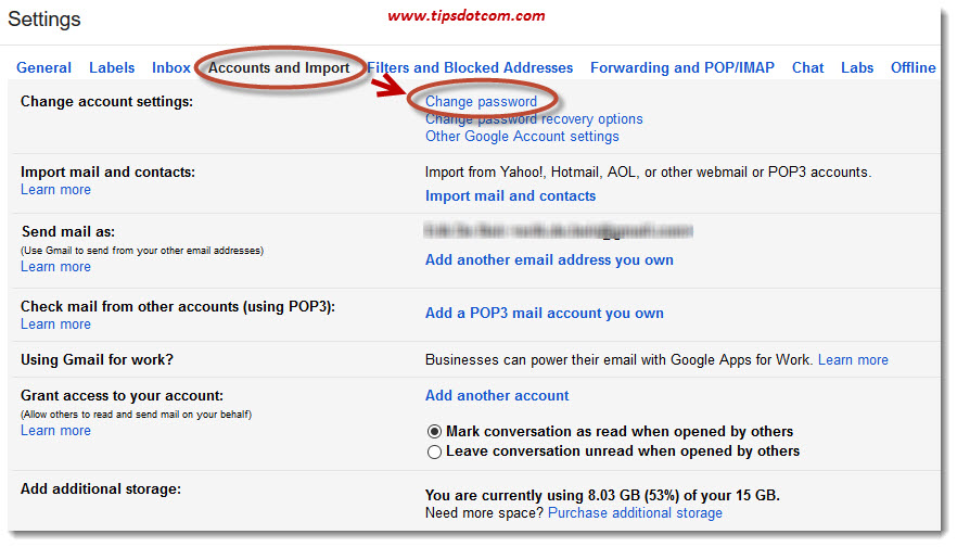 How To Change Gmail Password 04