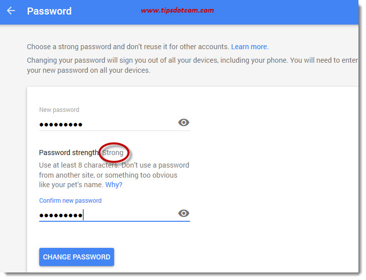 How To Change Gmail Password 06
