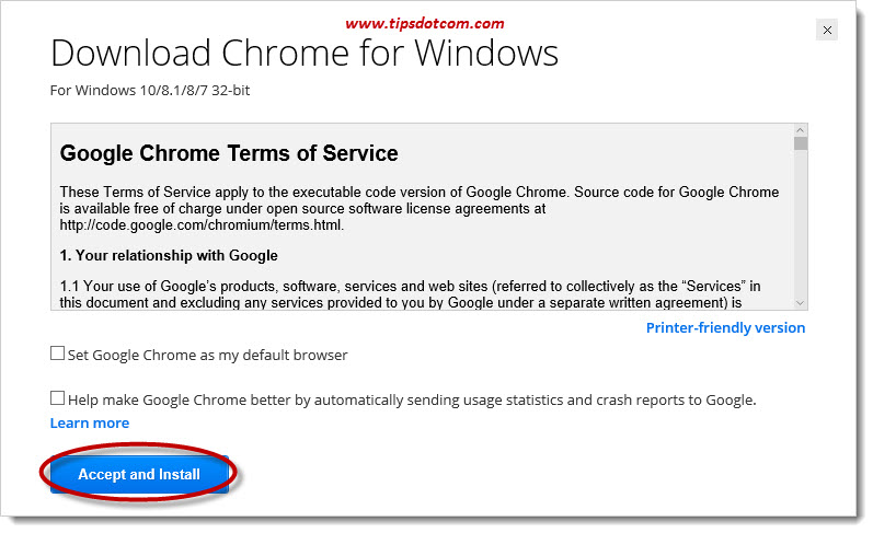 How To Download Google Chrome 09