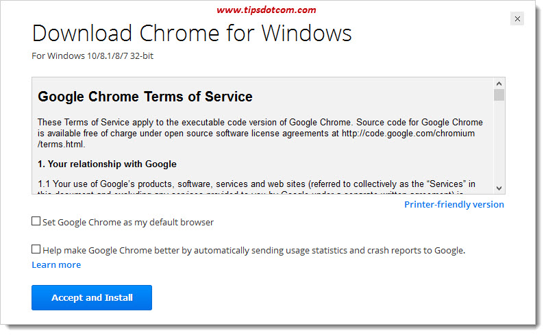 How To Download Google Chrome 16