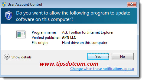 How to Uninstall Ask Toolbar Step 06