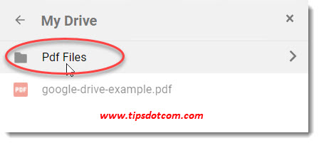 How to use Google Drive - moving files between folders