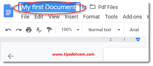 How to use Google Drive - Google Docs