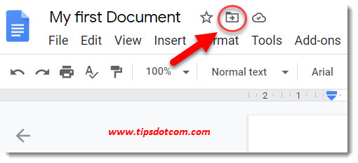 How to use Google Drive - folders