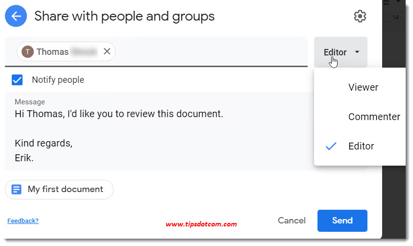 How to use Google Drive - sharing files