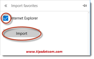 Import Internet Explorer Favorites To Edge 04