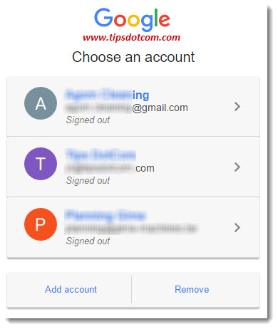 Gmail email account login page