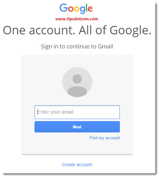Login To Gmail With Another Account 02