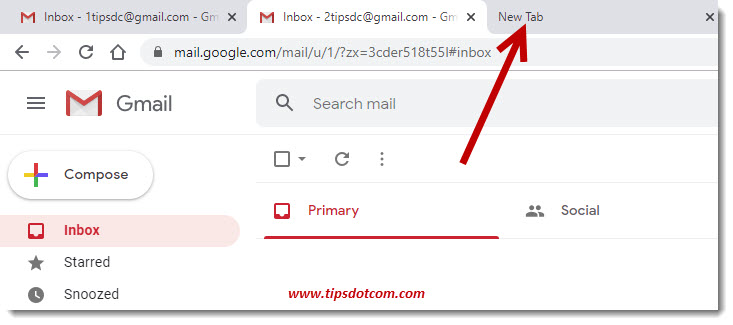 Login With A Different User In Gmail New Google Feature