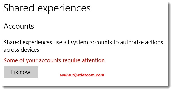 Microsoft account problem - shared experiences
