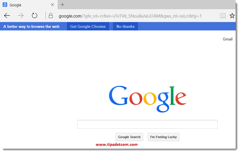 Microsoft Edge Google Search 03c