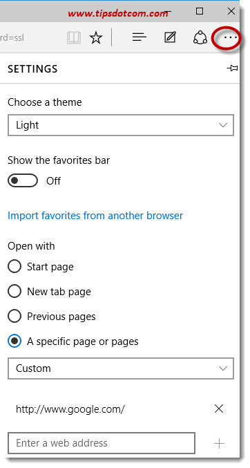 Microsoft Edge Start Page 09