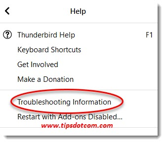 Troubleshooting information