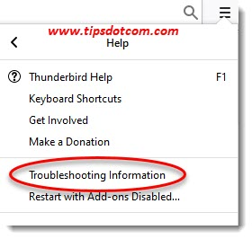 Move Thunderbird to a new computer - troubleshooting information
