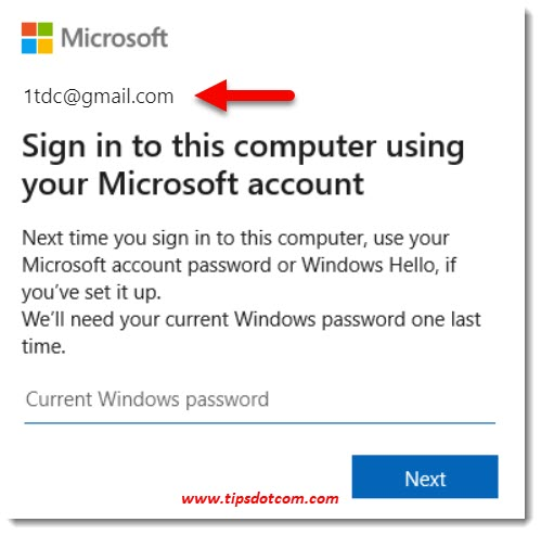 Next Time You Sign Into This Computer