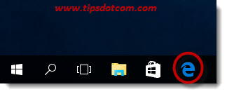 Pin Microsoft Edge To Taskbar 07
