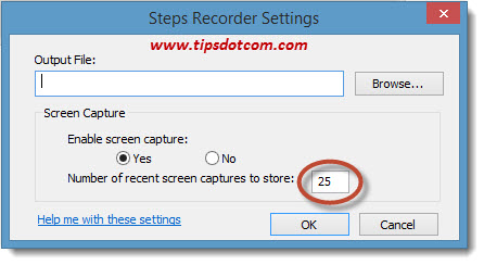 Problem Steps Recorder - 17