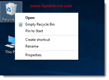Recycle Bin Disappeared 08