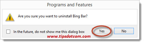 Remove Bing Search 14