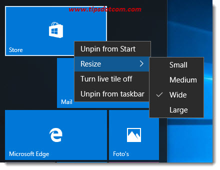 Remove Life At A Glance In Windows 10 08