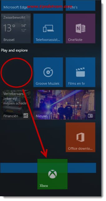 Remove Life At A Glance In Windows 10 09