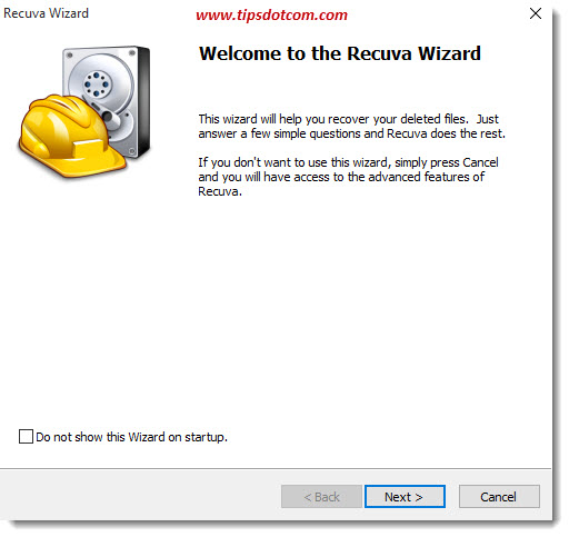 Restore Deleted Recycle Bin Files 01