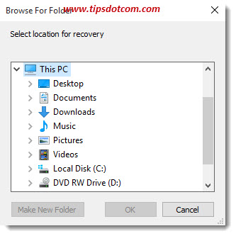 Restore Deleted Recycle Bin Files 06