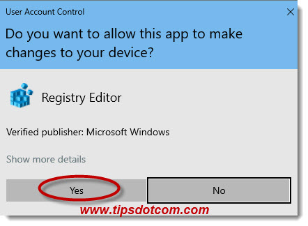 Windows user account control